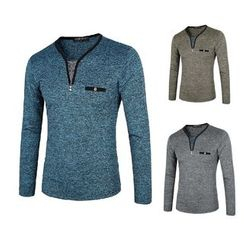Blueforce - 混色長袖T恤