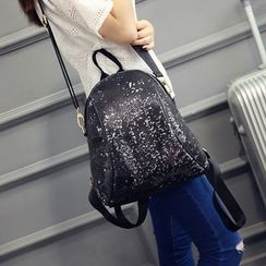 Youme - Sequined Backpack