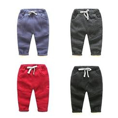 WellKids - Kids Fleece-Lined Drawstring Pants