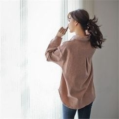 Styleberry - Long-Sleeve Plain Shirt