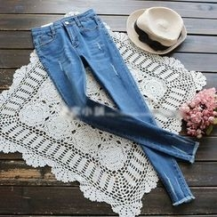 YOYO - Distressed Skinny Jeans