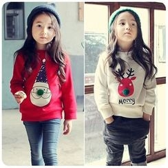 Rakkaus - Kids Paneled Printed Pullover