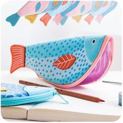 默默爱 - 鱼笔袋
