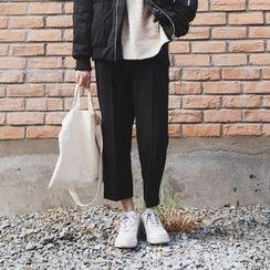 Tiny Times - Cropped Wide Leg Pants