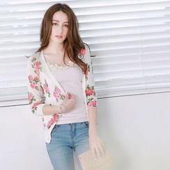 Tokyo Fashion - Floral Cardigan