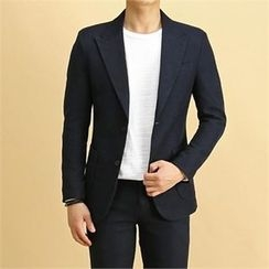 THE COVER - Peaked-Lapel Single-Breasted Jacket
