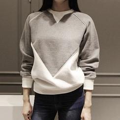 Athena - Color-Block Pullover