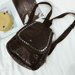 Hase Babe - Studded Flap Backpack