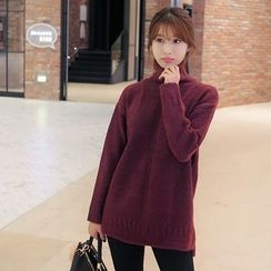 CLICK - Turtleneck Knit Sweater