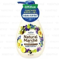 Kracie - Naïve Natural Marche Body Wash (Plum and Grape)