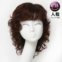 Clair Beauty - Real Hair Medium Full Wig - Wavy