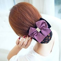 Missy Missy - Bow Hair Clip with Net