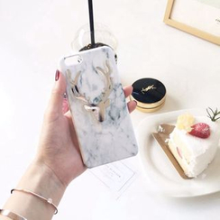 Homap - Marble Patterned Mobile Case - iPhone 7/ 7plus/ 6s / 6s Plus