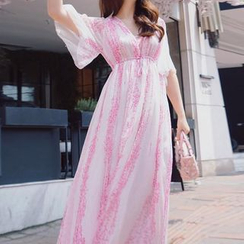 Jolly Club - Printed Maxi Dress