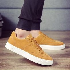 Chariot - Faux-Suede Sneakers