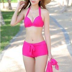 Charmaine - Set: Plain Bikini + Cover