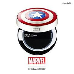 The Face Shop - Multi Sun Cushion For Men SPF32 PA++ (Marvel Edition) 15g
