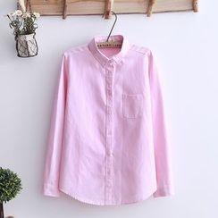 Tangi - Plain Oxford Shirt