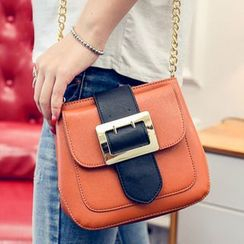 Clair Fashion - Faux-Leather Cross Bag
