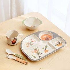 Lazy Corner - Printed Kids Tableware Set