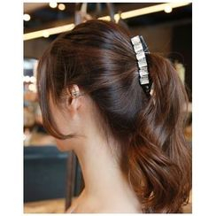 Miss21 Korea - Rhinestone Slim Hair Clamp