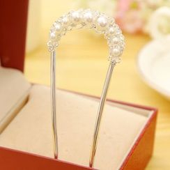 Gold Beam - Embellished Hair Comb