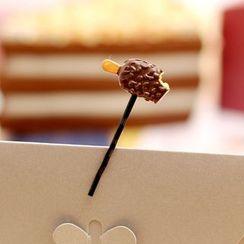 Gold Beam - Food Hair Pin