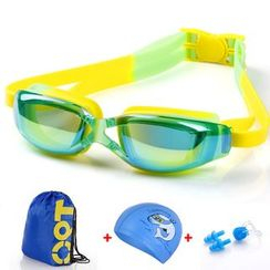 Mermaid's Tale - Set: Swim Hat + Swim Goggles