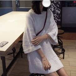MATO - Bell Sleeve Long Sweater
