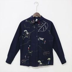 Mr. Cai - Embroidered Shirt