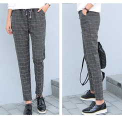Jenny's Couture - Plaid Harem Pants