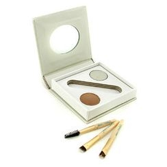 Jane Iredale - Bitty Brow Kit - Blonde (1x Brow Powder, 1x Brow Wax, 3x Applicator)