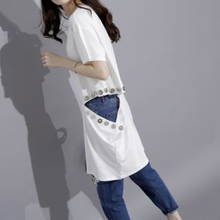Sonne - Cutout-Side Long T-Shirt
