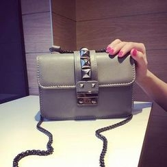 Pandabada - Studded Chain-Strap Cross Bag