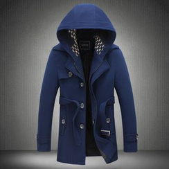 Alvicio - Hooded Long Coat