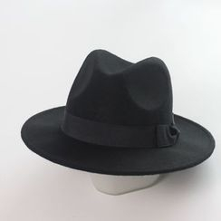 EVEN - Bow Fedora Hat