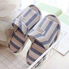 BEANS - Stripe Slippers