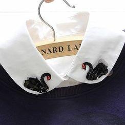 Eustacia - Black Swan Decorative Collar