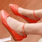 Smoothie - Ankle-Strap Pointy Flats