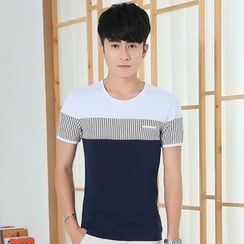 Seahound - Short-Sleeve Color Block T-Shirt