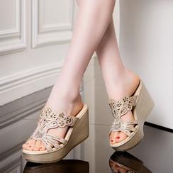 Hannah - 水鑽船跟涼鞋