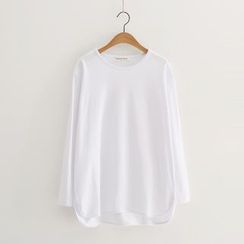 Piko - Plain Long-Sleeve T-shirt