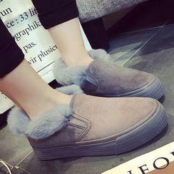 Lutin - 毛毛边轻便鞋