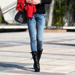 SO Central - Washed Skinny Jeans