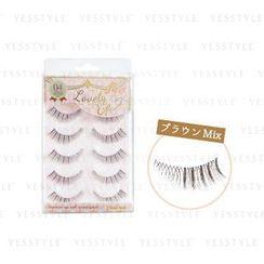 LUCKY TRENDY - Beauty World Lovely Eye Eyelash Black (FLE984)