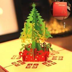 ByHeart - 聖誕樹3D賀卡
