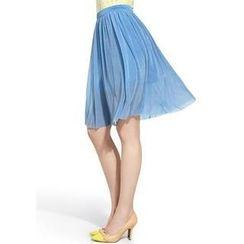 Moonbasa - Pleated Midi Skirt