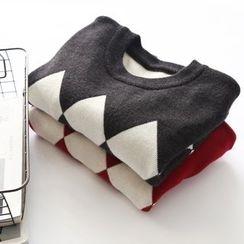 Bonbon - Color Block Sweater