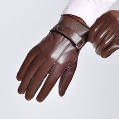 Glova - Belted Genuine Leather Gloves