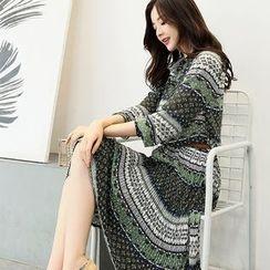 NINETTE - Printed Chiffon Dress